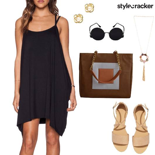 Slip Dress Summer Basic - StyleCracker