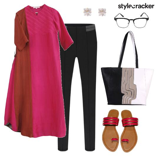Kurta Pants Indian Ethnic Casual - StyleCracker
