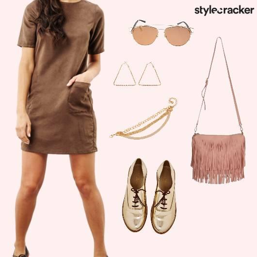 Dress Fringe Casual Summer  - StyleCracker