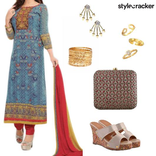 Salwaar Kameez Indian Ethnic Summer - StyleCracker
