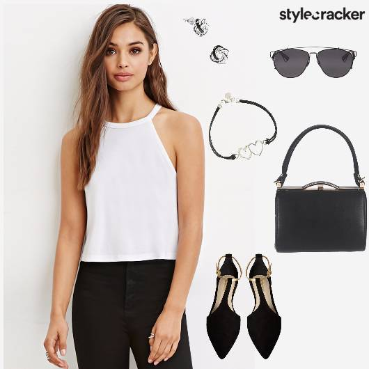 HalterNeck Top Pant Summer Lunch  - StyleCracker