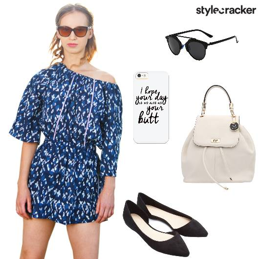 Playsuit Flats Backpack Casual - StyleCracker