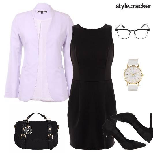 Blazer Dresss Pumps Satchel Watch Work - StyleCracker