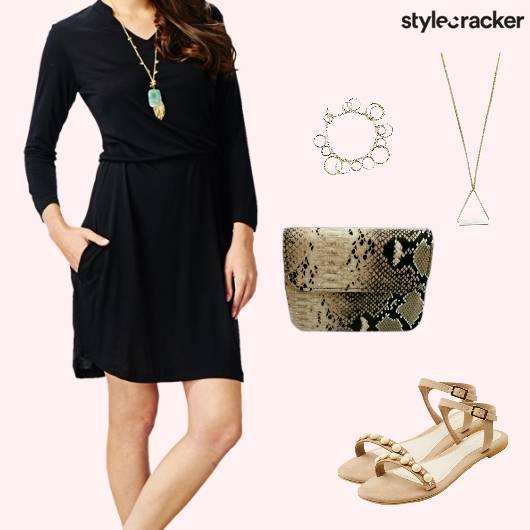 Casual Summer Dress SlingBag - StyleCracker