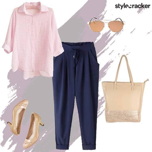 Work Meeting Formal Shirt Pants - StyleCracker