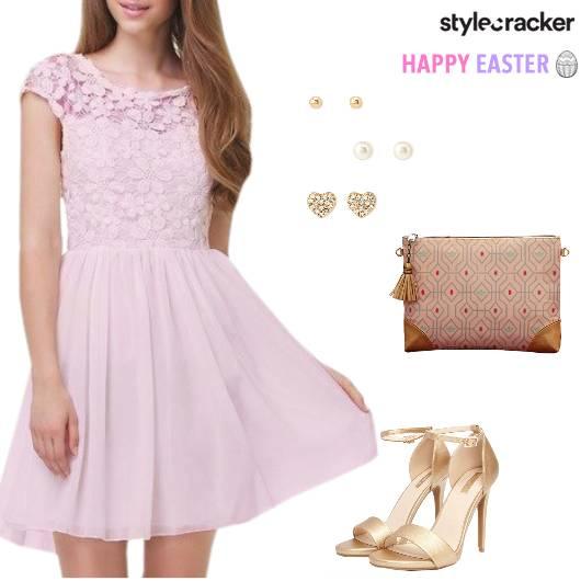 Easter Dress Clutch Pastel - StyleCracker