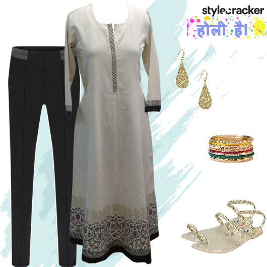 Casual Ethnic Indian Kurta Holi - StyleCracker