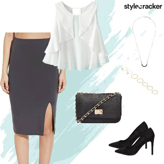 Weekend Party Midi Skirt - StyleCracker