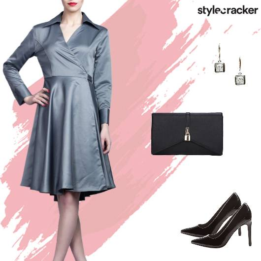 Formal Party WrapDress - StyleCracker