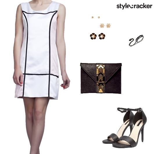 Tunic Dress EnvelopeClutch Heels - StyleCracker