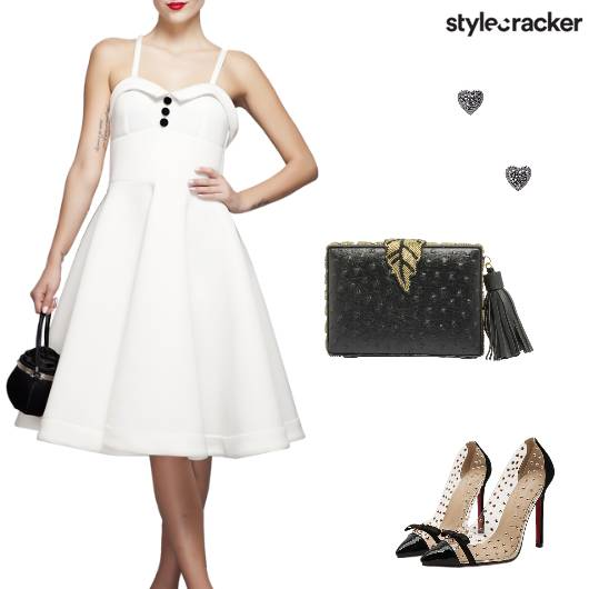 Event Formal Party Midi Dress - StyleCracker