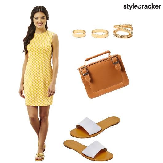 SummerReady Shift Yellow Flats - StyleCracker