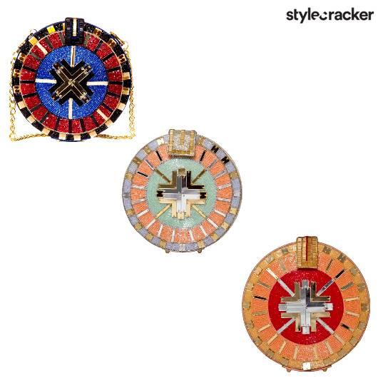 SCLoves RoundClutches Unconventional - StyleCracker
