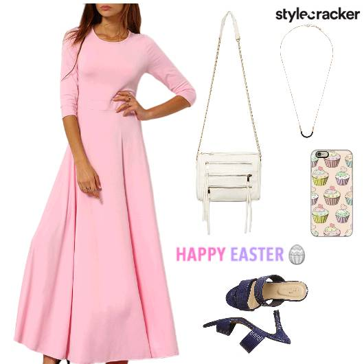 MaxiDress SorbetColours EasterWeekend Brunch  - StyleCracker