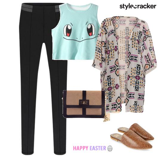 Casual Kimono Mules EasterWeekend  - StyleCracker