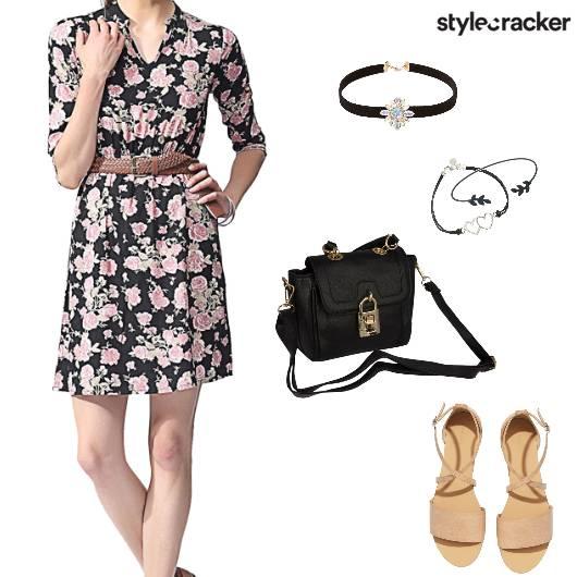 Casual Summer Dress Floral Shopping - StyleCracker