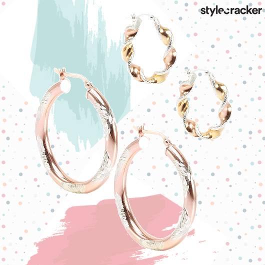 SCLoves Hoop Earrings - StyleCracker