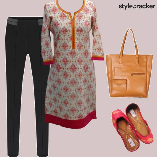 Casual Indian Ethnic Kurta Work - StyleCracker