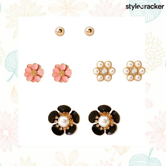 SCLoves Flower Earrings - StyleCracker