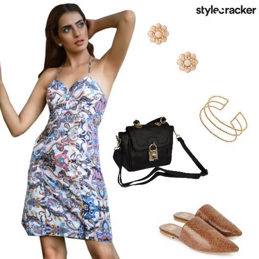 Prints Halter Summer Chill Mules - StyleCracker