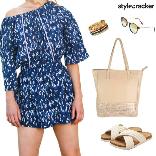 Casual Vacation Printed Summer Dress - StyleCracker