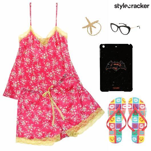 Shorts TwinSet Flats PyjamaParty - StyleCracker