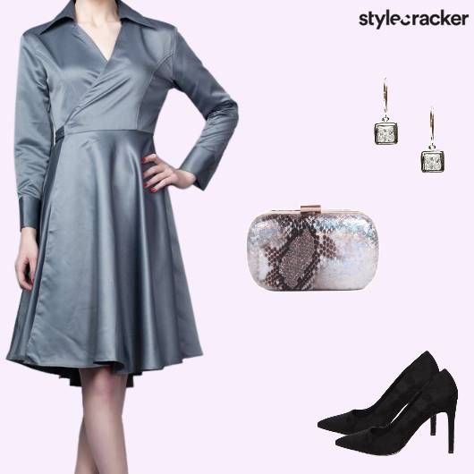 Formal Event Work WrapDress - StyleCracker