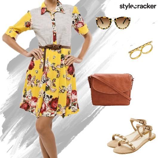 Casual Shopping DayOut Summer Dress - StyleCracker