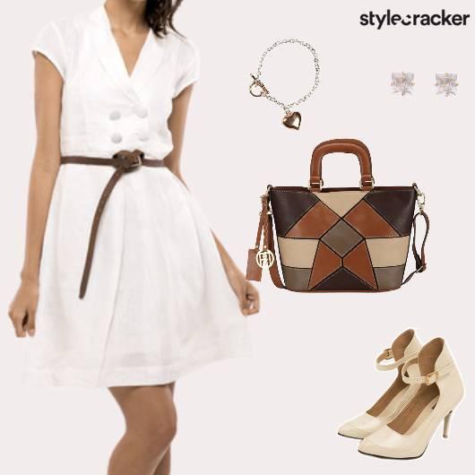 Work Formal Meeting Dress - StyleCracker