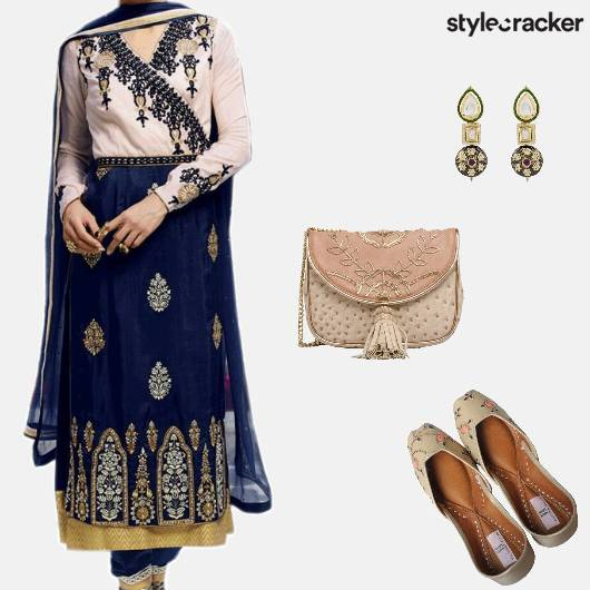 Festive Ethnic Indian Suit Wedding - StyleCracker