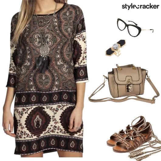 Casual Summer Dayout CatEyeFrames - StyleCracker