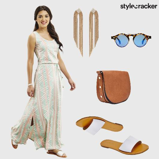 MaxiDress Flats Casual Printed ShoulderDusters  - StyleCracker