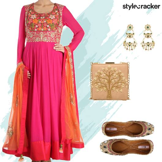 Festive Indian Wedding Sangeet - StyleCracker