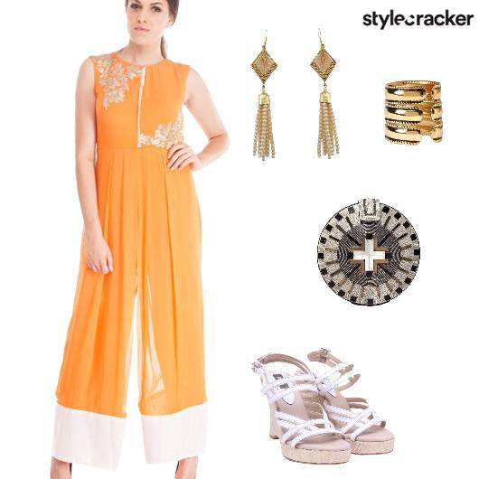 Indian Festive Wedges EmbellishedClutch - StyleCracker