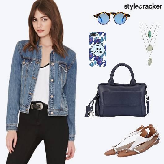 Casual Work Dayout Shopping Denim Jacket - StyleCracker