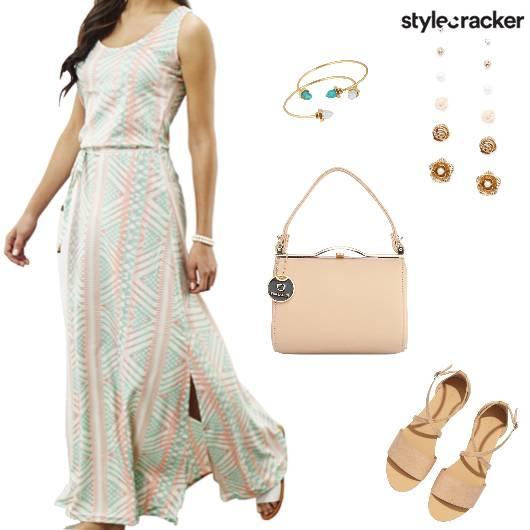 Summer Maxi Dress Lunch Casual - StyleCracker