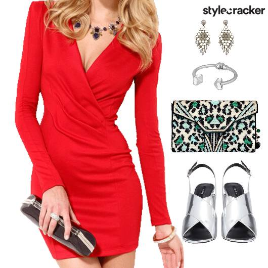 Dinner Clutch Stilettos Accessories WarmColors - StyleCracker