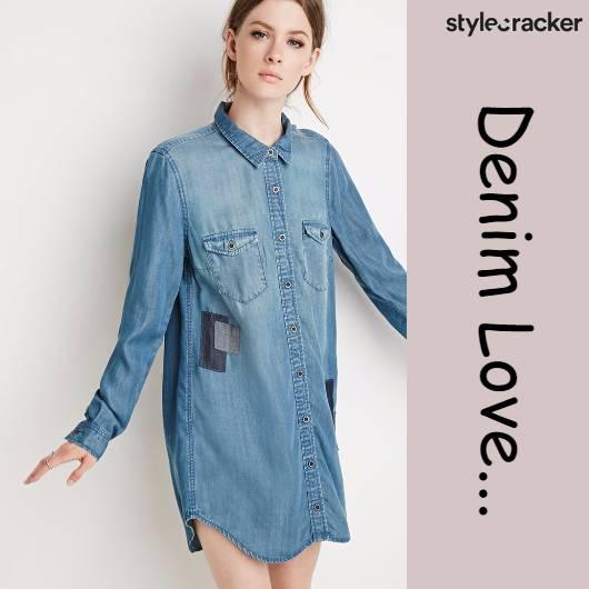 SCLoves Denim Dress Trend Casual - StyleCracker