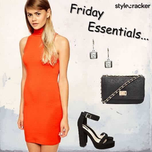 Dress Heels Slingbag Warmcolors - StyleCracker