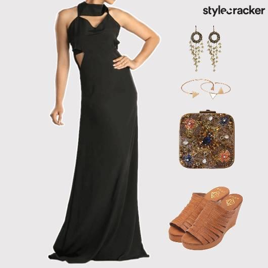MaxiDress Clutch Dinner Accessories - StyleCracker