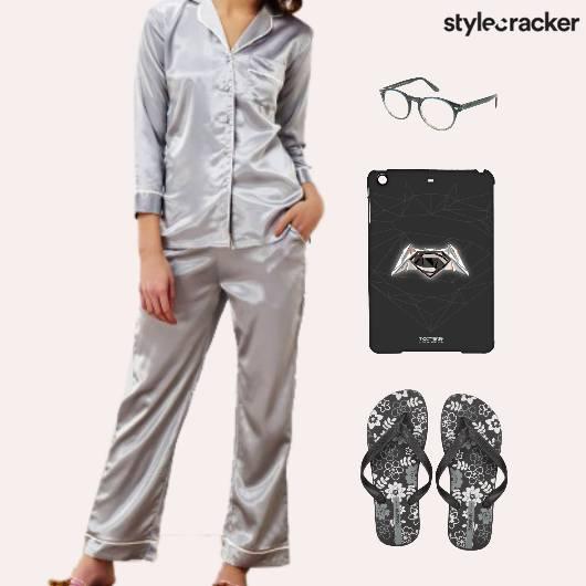 NightWear Pyjama Party Sleepover Flats - StyleCracker