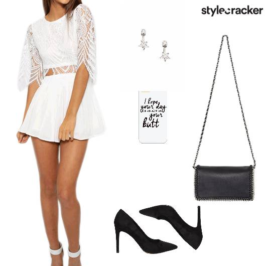 Jumpsuit Pumps Slingbag Brunch - StyleCracker