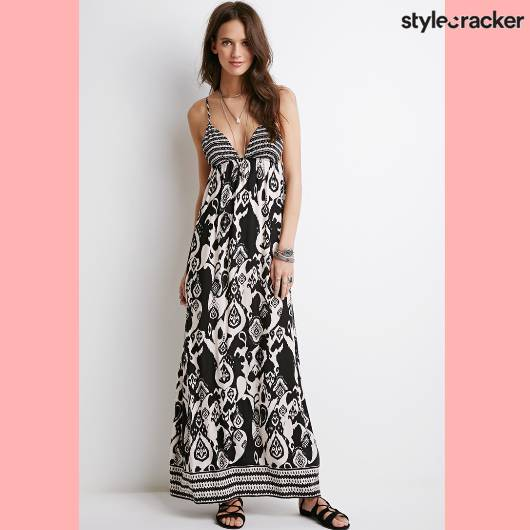 SCLoves Printed Maxi Dresses - StyleCracker