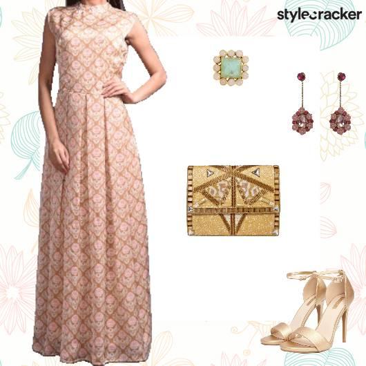 Festive Wedding Cocktail Sangeet - StyleCracker