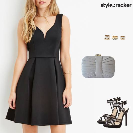 Party Date Night Dress Heels - StyleCracker