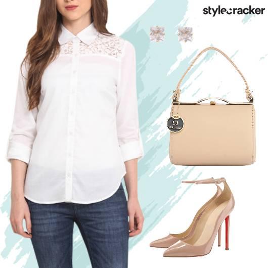 Shirt Denim Pumps Workwear  - StyleCracker