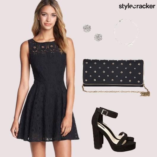 LBD Party Lace Prom  - StyleCracker
