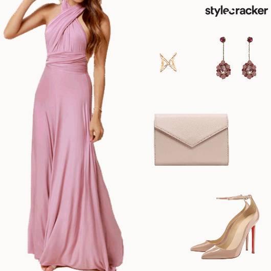 Formal Event Party Maxi Dress - StyleCracker