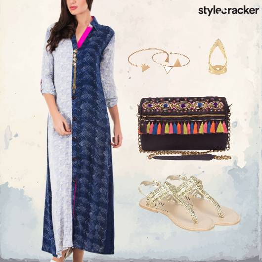 Indian Casual Summer Flats Sling - StyleCracker