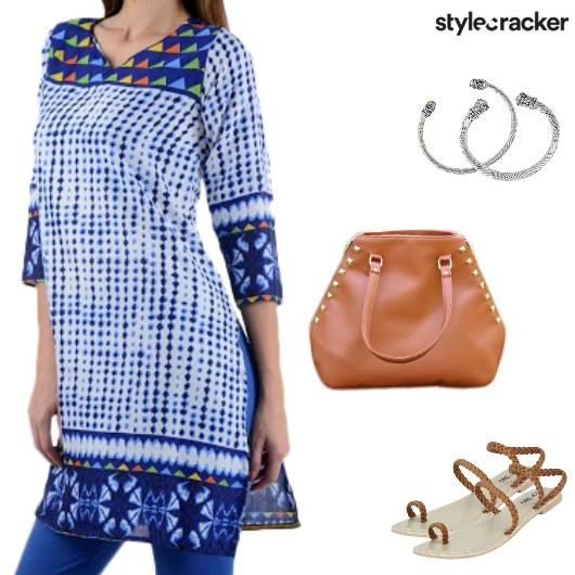 Casual Ethnic Indian Kurta - StyleCracker